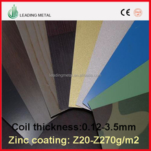 Alibaba China Shanghai PPGI Prepainted galvanized Steel Coil for Construction Building