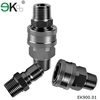 flat face quick coupling hose connectors/air quick coupler NPT