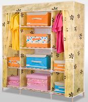 folding oxford fabric bedroom wardrobe designs samall wood wardroble save room