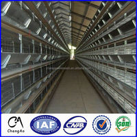Egg Production Poultry Farming Equipment A type layer chicken cage for Sale
