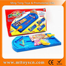 New plastic toy game mini table basketball game
