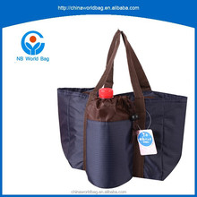 GY Strict quality control Hot sale portable cooler bag with bottle bag