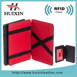 Fashion card slot flip magic wallet RFID smart wallet
