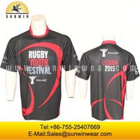customize womens rugby shirts/long sleeves rugby jersey