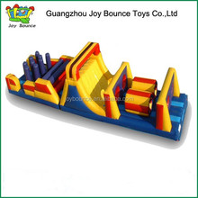 adventure rush inflatable obstacle course , obstacle equipment inflatable obstacle course for kids and adults