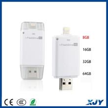 XINJIAYE USB Flash Drive 8-64GB Device U Disk With Extra USB Memory Storage For Mobile Phone