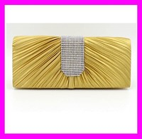 Best quality new fashion trendy design women clutch crystal evening bag for party HD1764