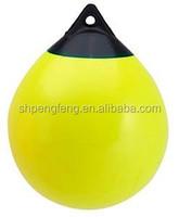 Yellow polyform buoy A series