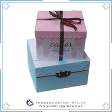 Luxury embossing box for cake box packaging