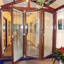 Latest french design aluminium folding door/interior soundproof door