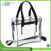 2015 Alibaba China Wholesale New Fashion Style Pvc Clear Bag With Handle