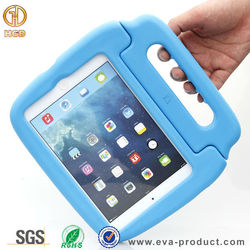 2015 Hot selling safe Eva Drop proof kids shockproof case for iPad mini 1 2