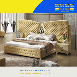 2015 most popular high gloss lacquer bedroom sets luxury king size furniture