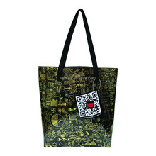 Big PVC plastic beach tote bag