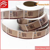 adhesive label hs codes sticker
