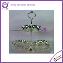 k8223 Cupcake Stand Stainless Steel Three Tier Cake Stand