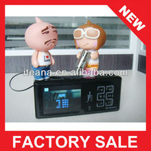 2012 fashion gifts for blind micro sd card reader mp3 player support memory card