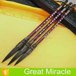 3Sizes mink hair Chinese calligraphy brush the high quality calligraphy pen