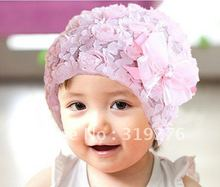 JPhat010 lace bow hat, baby hat cute baby hat cap wholesale free shipping