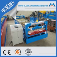 CNC Galvanized R Wall Panel Cold Roll Forming Machinery Production Line