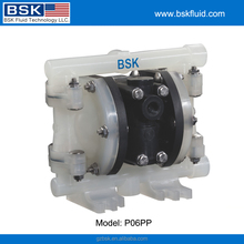 Small inch air operated diaphragm pump for acid