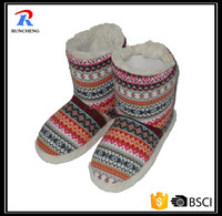 cheap snow women kintted shoes boots