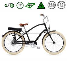2015 newest beach cruiser cheap electric bike / Retro city electric bicycle / fat e bike