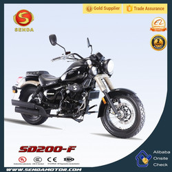 custom 200CC/250CC new luxury chopper cruiser motorcycle SD200-F balanced shaft oil cooled engine SHADOW Motocicleta