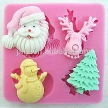 De alta calidad de silicona& fondant de chocolate& molde de pastel de venta al por mayor