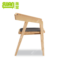 2248 solid wood hotel dining chair