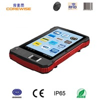 Industrial PDA with Barcode Scanner/Fingerprint Sensor / android tablet rfid reader