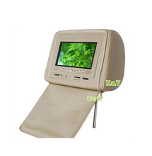 7 inch tft lcd monitor car headrest monitor with stable quality (XY-7051)