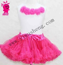 Fashion Color Fluffy Style High Quality little Girls Pettiskirt dress