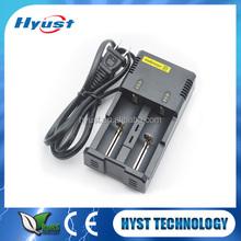 Original Nitecore i2 intelligent 18650 battery Charger for 18650 26650 10440 battery