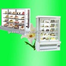 cake display showcase refrigerator