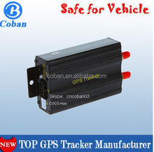 TK103 GPS Cut off fuel Free Web & Android phone GPS tracking system with location report history playback