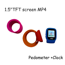 Factory direct watch silicone band mp4 player