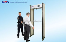 Sicherheit und schutz produkte 6 Zone Spaziergang durch metalldetektoren für flughafen mcd-500a
