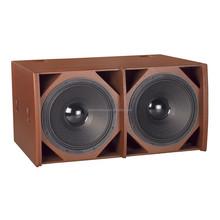 """dual 18"""" subwoofer speaker for disco / DE Acoustics HQ-218S dual 18"""" subwoofer"""