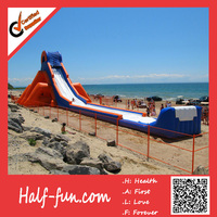 Logo Customized Good Service Giant Inflatable Water Slide for Adult
