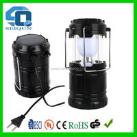 220V rechargeable lamp led solar camping lantern / solar lantern , solar camping light , camping led lantern