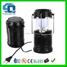 220V rechargeable lamp led solar camping lantern / solar lantern , solar camping light , camping led lantern