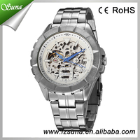 Novelties 2015 Goer brand mens fashion luxury mechanical smart watch wrist men's