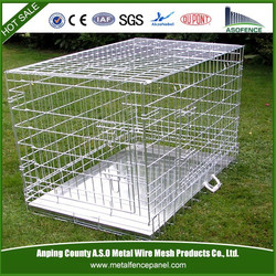 2015 Hot sale strong stainless steel dog cage