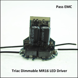Hight Compatible Pass EMC 12V MR16 Triac Dimmable LED Driver
