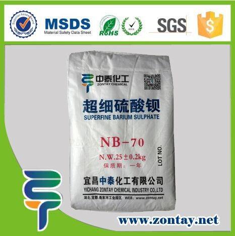 Бария сульфат (или сульфат) является неорганическое соединение с химической формулой BaSO 4.