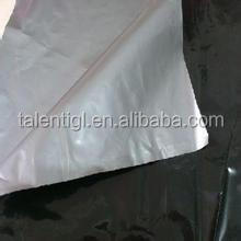 black and silver plastic agricultural mulching film