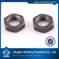 china high quality and low price standard size bolt and nut