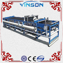 High qualtiy fully automatic cast iron filter press for oil waste