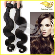 hot selling number 2 hair color weave, brazilian hair color #2